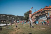 Trickline show na Adrenalin Challenge 2018